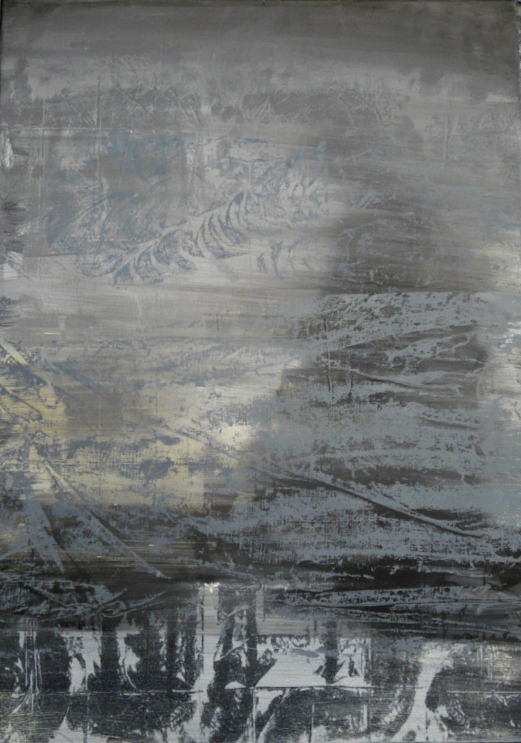 silueta 70 x 50cm akyl 2014