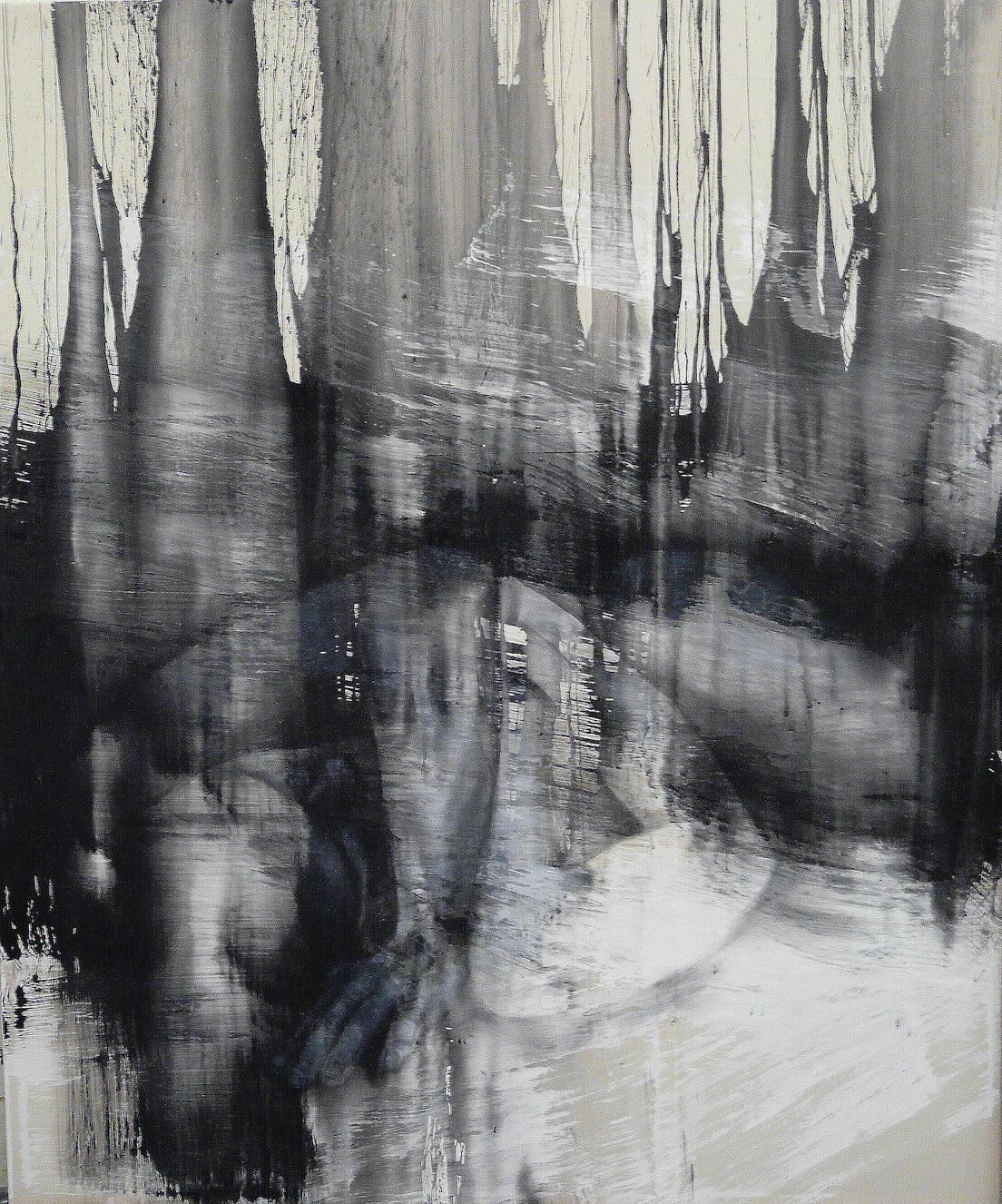 zniceny lesnik 250x210cm akryl 2014